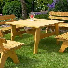 Luxury Garten Esstisch aus Kiefer Massivholz cm breit holztisch gartentisch massivholztisch k chentisch