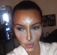 """Logra el """"contouring"""" como Kim Kardashian - Yahoo Vida y Estilo en Español"""