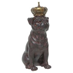 Royal Pug Statuette <3