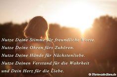 Foto: In diesem Sinne wünsche ich euch allen einen zauberhaften Start in die nächste Woche <3 #glücksmomente - Glück gemacht von worte-mit-herz.de