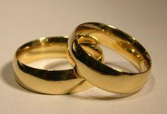 Alianças Tradicionais em Ouro 18klts 750- Ref: 8053 - Reisman Alianças de Casamento, Noivado, Bodas e Anéis de Noivado