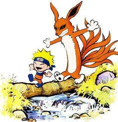 Calvin e Haroldo – Fan Art