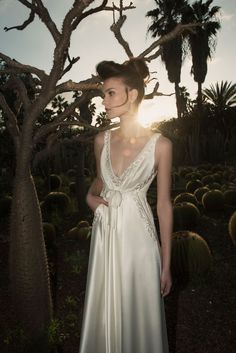 Exclusive Interview with Vered Vaknin and the 2015 Bridal Collection Bridal Gowns, Wedding Gowns, Wedding Dress With Pockets, Stunning Wedding Dresses, Bridal Collection, Marie, Wedding Photos, Flower Girl Dresses, Elegant