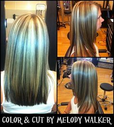 Hair on Pinterest   Chunky Highlights, Blonde Highlights and ...