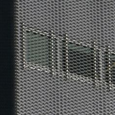 detail metal cladding, SANAA, New Museum of Contemporary Art, NYC, 2003