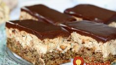 Grandma told me the nuts, elronthatatlan, juicy French fries piled secret! Hungarian Desserts, Hungarian Recipes, Sweet Recipes, Cake Recipes, Dessert Recipes, Cookie Desserts, No Bake Desserts, Food Cakes, Cupcake Cakes