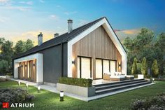Things To Keep In Mind Before Considering Home Renovation Contract – Home Dcorz Contemporary Barn, Modern Barn, Modern Farmhouse, Bungalow Renovation, Barn House Plans, Bungalow Homes, Facade House, Cladding, House Design