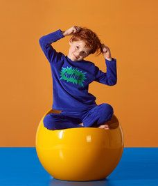 <strong>Pyjama Awake Badstof</strong><br /><em>Beschikbare maten:</em> 3y,4y,6y,8y,10y,12y,5y