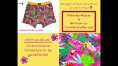 UNDIS www.undis.eu Lustige Unterwäsche / Boxershorts im Partnerlook für...