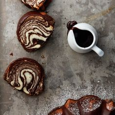 Zebra Bundt Cake with step-by-step pictures