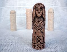 Handmade Eco Friendly Ceramic Clay Figurine Brown Home Decor Slavic Amulet | eBay