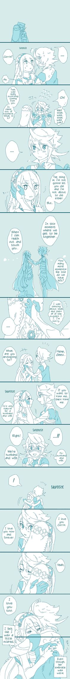 Fire Emblem Fates - Corrin x Azura comic [English translated]