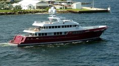 MAZU Cheoy Lee 151 46m Ron Holland Expedition Yacht from All Ocean Yachts of Fort Lauderdale, Florida.