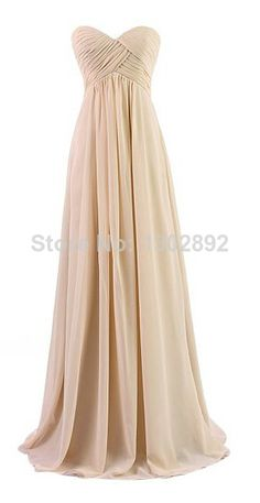 2014 Champagne party dresses long formal bridesmaid dress Formal Dresses prom Gowns Women dresses under 50