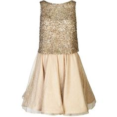 Womens Mini Dresses Alice + Olivia Hilta Gold Sequinned And Lace Mini... ($870) ❤ liked on Polyvore featuring dresses, gold beaded dress, short sequin dress, lace dress, sequin mini dress and mini dress