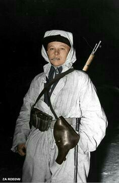 Finnish soldier Winter War