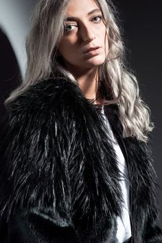 Kate faux fur bomber details. MONX BRAND AW 16-17