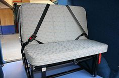 van bed seats | Campervan Rock and Roll Seat Bed - VW T4 T5, Mercedes Vito, Renault ...