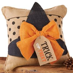 Witch Hat Pillow Wrap