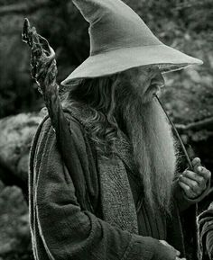 Gandalf (the hermit or the wizard) Lord Of Rings, Lord Of The Rings Tattoo, Thranduil, Legolas, Gandalf Tattoo, Lotr Tattoo, Beard Halloween Costumes, Wizard Tattoo, O Hobbit