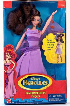 I have this Disney Megara large action figure, and it's selling on eBay for $250.  I don't think I can sell mine for that little.  True Disney love!  I love this character.