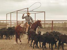 Riding for the Brand | American Cowboy Scott Slusher Photo
