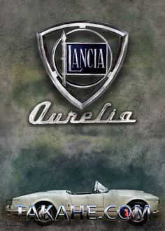 A vintage Lancia Aurelia 24B