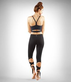 The dance-inspired Flux Legging reflects the heart and soul of a practice that's always in motion.