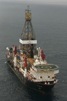 The oil discovery Astraea-1 in Angola was drilled by the drillship Jack Ryan in a water depth of 1,496 metres, and reached a total depth of 3,511 metres below sea level. Image (c) BP p.l.c GCaptain