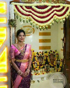 Silk Saree Blouse Designs, Fancy Blouse Designs, Bridal Blouse Designs, Luxury Wedding Decor, Bohemian Wedding Decorations, Bridal Silk Saree, Saree Wedding, Set Saree, Wedding Saree Collection