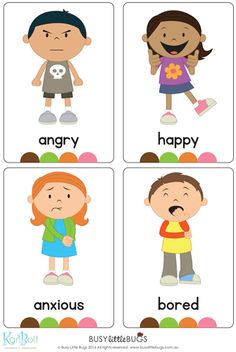 Emotions Full Body Flash Cards A brand new set of full body emotions flash cards! There are 16 flash cards in this set. Emotions Preschool, Teaching Emotions, Emotions Activities, Learning Activities, Preschool Activities, Teaching Kids, Kids Learning, Feelings Chart, Feelings And Emotions