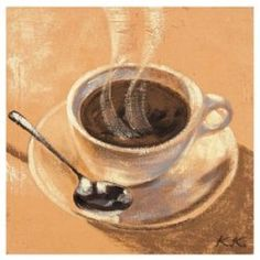 Coffee Themed Gifts For Coffee Lovers. There's a poster of a man with a giant cup of coffee $22. Zazzle