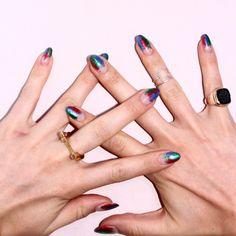 #nails #nailart #negativespace