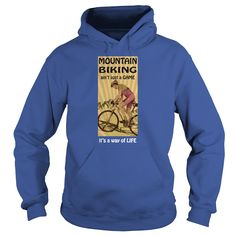 Mountain biking T-shirt - Biking is a way of life #gift #ideas #Popular #Everything #Videos #Shop #Animals #pets #Architecture #Art #Cars #motorcycles #Celebrities #DIY #crafts #Design #Education #Entertainment #Food #drink #Gardening #Geek #Hair #beauty #Health #fitness #History #Holidays #events #Home decor #Humor #Illustrations #posters #Kids #parenting #Men #Outdoors #Photography #Products #Quotes #Science #nature #Sports #Tattoos #Technology #Travel #Weddings #Women