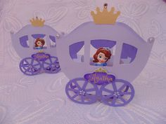 molde carruagem princesa sofia - Pesquisa Google