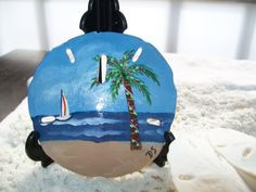 Hand Painted Sand dollar