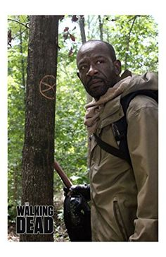 The Walking Dead Morgan Jones Actor Lennie James Unsigned 11x17 Photograph Walking Thru Woods Lookin @ niftywarehouse.com #NiftyWarehouse #WalkingDead #Zombie #Zombies #TV