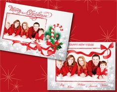Send your best wishes with a cute Christmas Photo Card... the magic is coming...