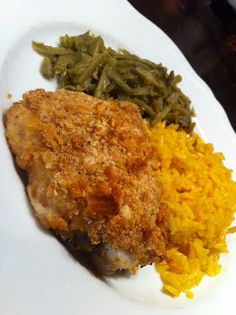 Oven Fried Chicken... Its not fried. Its baked!