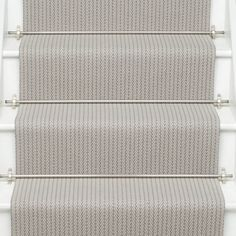 Higherground supply and fit your Roger Oates Fulham Quartz carpet stair runner throughout Surrey, Sussex and London - Call us today Neutral Carpet, Dark Carpet, Beige Carpet, Patterned Carpet, Carpet Colors, Yellow Carpet, Basement Carpet, Hallway Carpet, Hallway Flooring