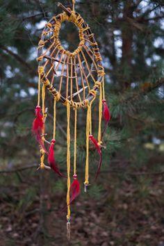 Native Tribal Earth warrior dream catcher Dreadlock dreamcatcher Pagan totem