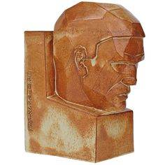 Het Denken, Willem Coenraad Brouwer Lion Sculpture, Art Deco, Ceramics, Statue, School, Glass, Kunst, Ceramica, Pottery