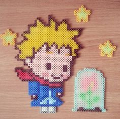 The Little Prince perler beads by lim_factory
