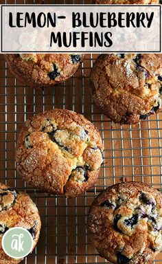 Recipes Muffins Lemon-blueberry muffins — my favorite! Sugar-crusted, lemony crumb, loaded with blueberries: what's not to love? This is a long-time family favorite recipe and always a crowd pleaser. Lemon Blueberry Muffins, Blue Berry Muffins, Healthy Blueberry Recipes, Healthy Muffin Recipes, Best Muffin Recipe, Brunch Recipes, Breakfast Recipes, Healthy Breakfast Muffins, Cooking Recipes