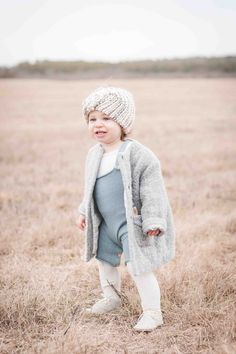 http://lapetitepeach.com/baby-style-for-winter/ winter clothes, baby winter clothes, knits for baby, baby style, kids fashion, tights, gray shoes, gray coat, head turban