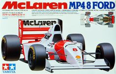 McLaren Ford MP4/8, Tamiya, 1:20