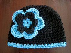bohoknits: Easy As Pie Crochet Hat Recipe