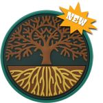 Tree of Life pedometer! A beautiful image of how life flourishes with a healthy and strong foundation.