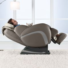 If you have never sat in the brookstone zero-gravity message chair... you're missing out!------I WAS ASKED TO SHARE THE EXPERIENCE...LMAO.
