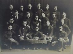 1910 Illini Club FOOTBALL CLUB STATE CHAMPIONS PHOTO MOLINE ILLINOIS $599 Moline Illinois, Vintage Football, Team Photos, Antique Photos, Worlds Largest, Vintage Antiques, Champion, Club, Movie Posters